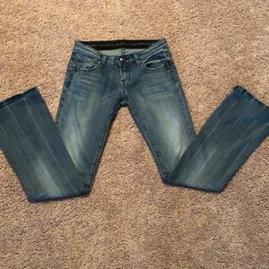 Rerock for Express Boot Cut Jeans
